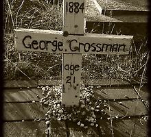 RIP Mister George Crossman by Colleen Milburn