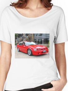 1994 ED XR8 Sprint: NZ Falcon & Fairlane Car Club Nationals 2015 Women's Relaxed Fit T-Shirt