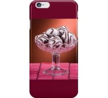 gingerbread cookies with icing of chocolate iPhone Case/Skin
