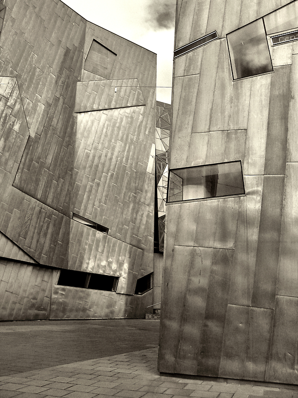 Federation Square 1 by Andrew  Makowiecki