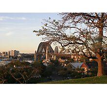 Sydney On Sunset Photographic Print
