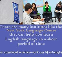 Choose the Best English School New York by garysimmons