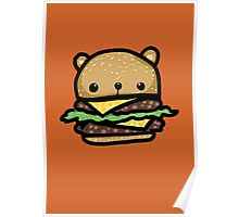 Burger Bear Poster