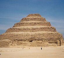 Memphis, Saqqara, King Djoser, Step Pyramid by ishtarsands