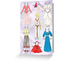 Paper Doll - Belle Greeting Card