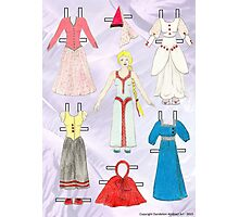 Paper Doll - Belle Photographic Print