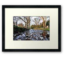 Leaving West Burton  Framed Print