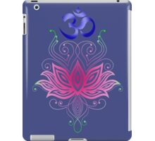 Lotus-Om iPad Case/Skin