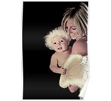 Portraits: Marley and Mum are angels II Poster