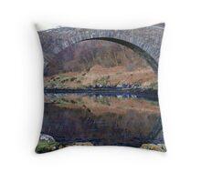 Bridge  over  the  Atlantic Throw Pillow