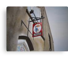 Killarney pub sign Canvas Print