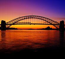 Sydney Harbour Bridge. by Andy Newman