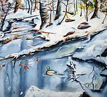 winter sanctuary by Brian Degnon