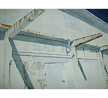 boardwalk ghost Photographic Print