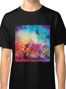 THUMBELINA,FLOWER BASKET AND BUTTERFLY Classic T-Shirt