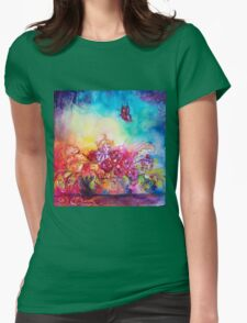THUMBELINA,FLOWER BASKET AND BUTTERFLY T-Shirt