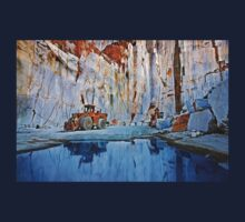 Marble quarry at Naxos island - Cyclades, Greece T-Shirt