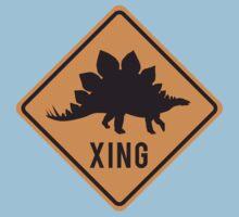 Prehistoric Xing - Stegosaurus Kids Clothes