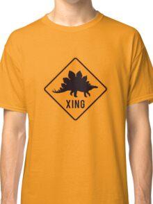 Prehistoric Xing - Stegosaurus Classic T-Shirt
