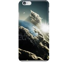 Earth vs Space iPhone Case/Skin
