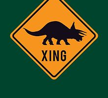 Prehistoric Xing - Triceratops by SevenHundred