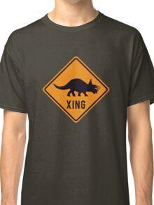 Prehistoric Xing - Triceratops Classic T-Shirt