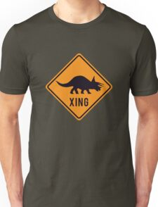 Prehistoric Xing - Triceratops Unisex T-Shirt
