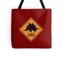 Prehistoric Xing - Stegosaurus Tote Bag