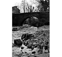 The Bridge at West Burton Falls Photographic Print