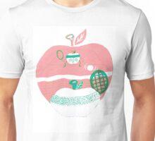 Healthy living apple Unisex T-Shirt