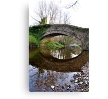 The Pack Horse Bridge at West Burton Canvas Print