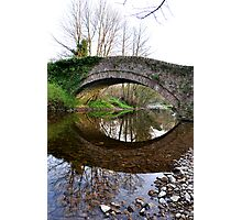 The Pack Horse Bridge at West Burton Photographic Print