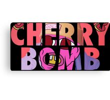 'Cherry Bomb' Alternate Album Cover Canvas Print