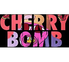 'Cherry Bomb' Alternate Album Cover Photographic Print