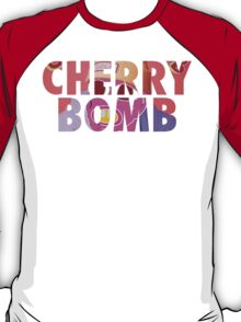 'Cherry Bomb' Alternate Album Cover T-Shirt