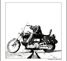 """Biker Larry"" by Don Bailey"