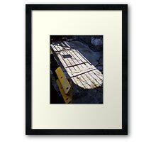 The Gates Of Dawn Framed Print