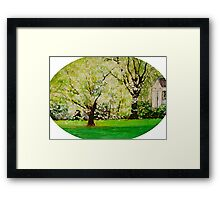 Going to Carolina In my Mind      (  My Paintings ) Framed Print