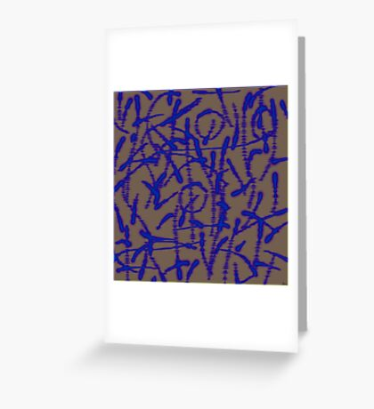 1585 Abstract Thought Greeting Card