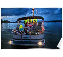 Disco Night Boat Poster