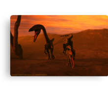 Attack Canvas Print