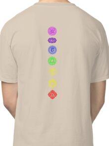 7 Chakra spiritual meditation Classic T-Shirt