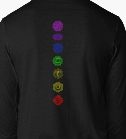 7 Chakra spiritual meditation Long Sleeve T-Shirt