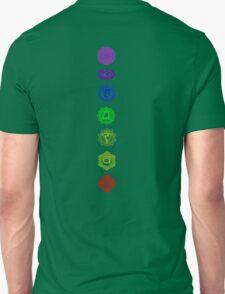 7 Chakra spiritual meditation Unisex T-Shirt