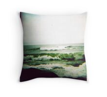Bonnet Waves Throw Pillow