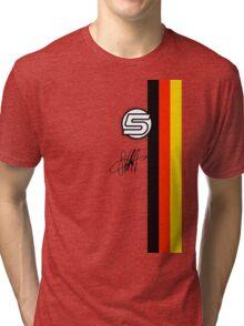 Vettel Helmet sig Tri-blend T-Shirt