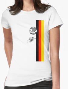 Vettel Helmet sig Womens Fitted T-Shirt