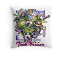 The Troll Fairy Trio Throw Pillow
