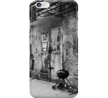Old Factory BBQ iPhone Case/Skin