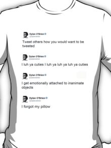 Best of: Dylan O'briens tweets T-Shirt